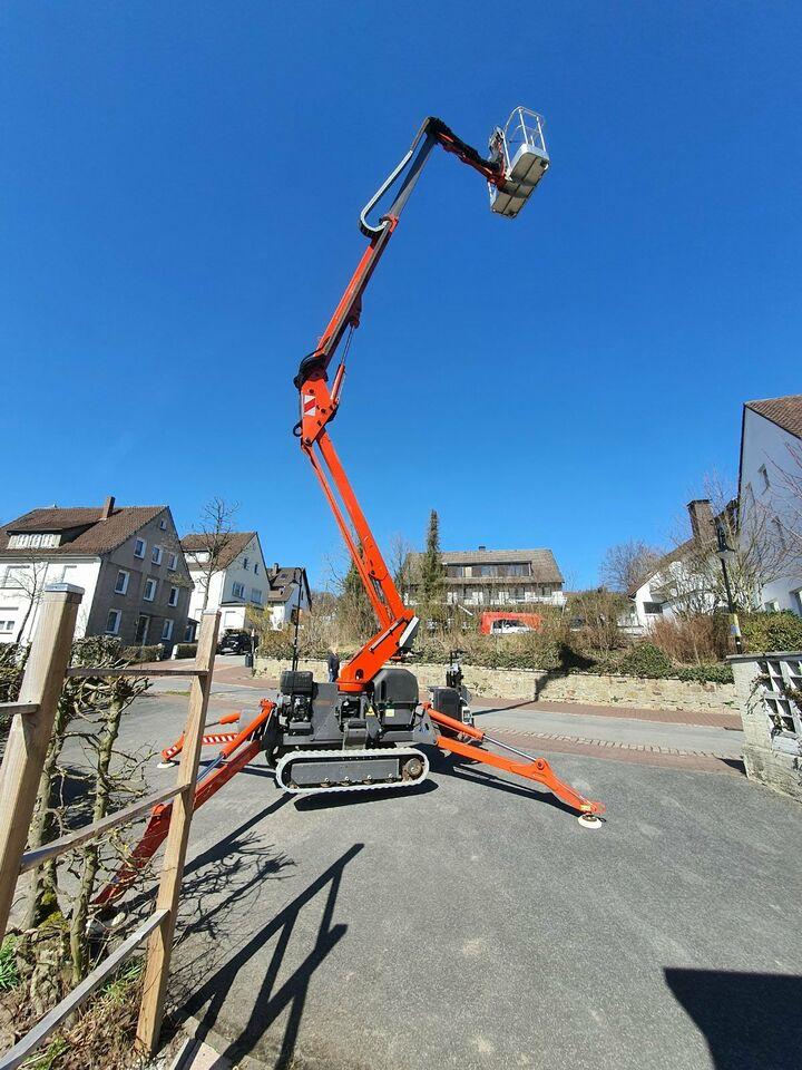 Raupenarbeitsbühne / Hubsteiger Arbeitshöhe 15 Meter